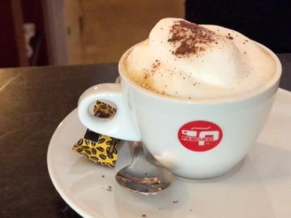 Kaffee bei Berdux Weine